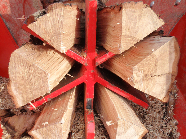 Oak Log Splitter